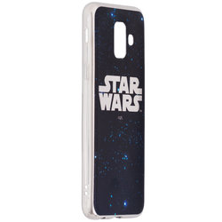 Husa Samsung Galaxy A6 2018 Cu Licenta Disney - Star Wars Luxury Silver
