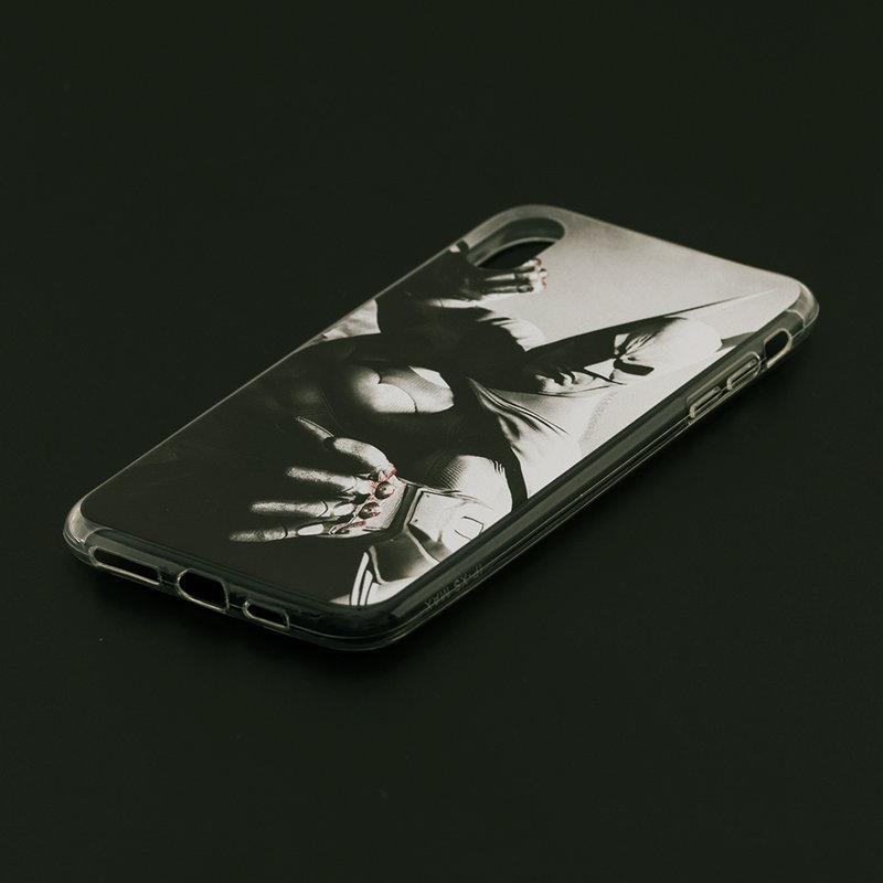 Husa iPhone XS Max Cu Licenta DC Comics - Grey Batman