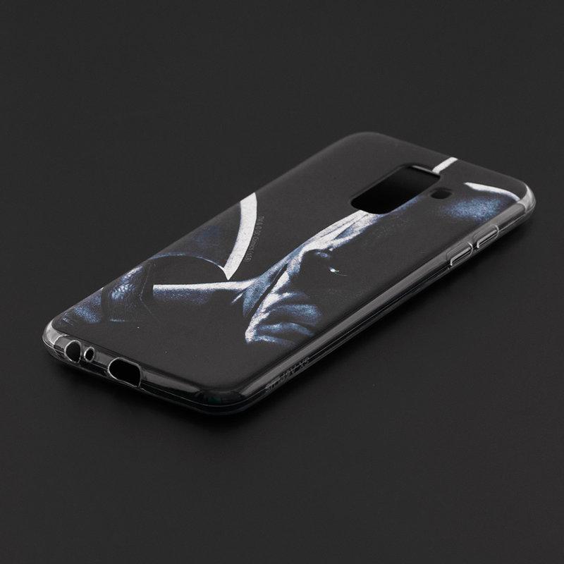 Husa Samsung Galaxy A6 Plus 2018 Cu Licenta DC Comics - Navy Batman
