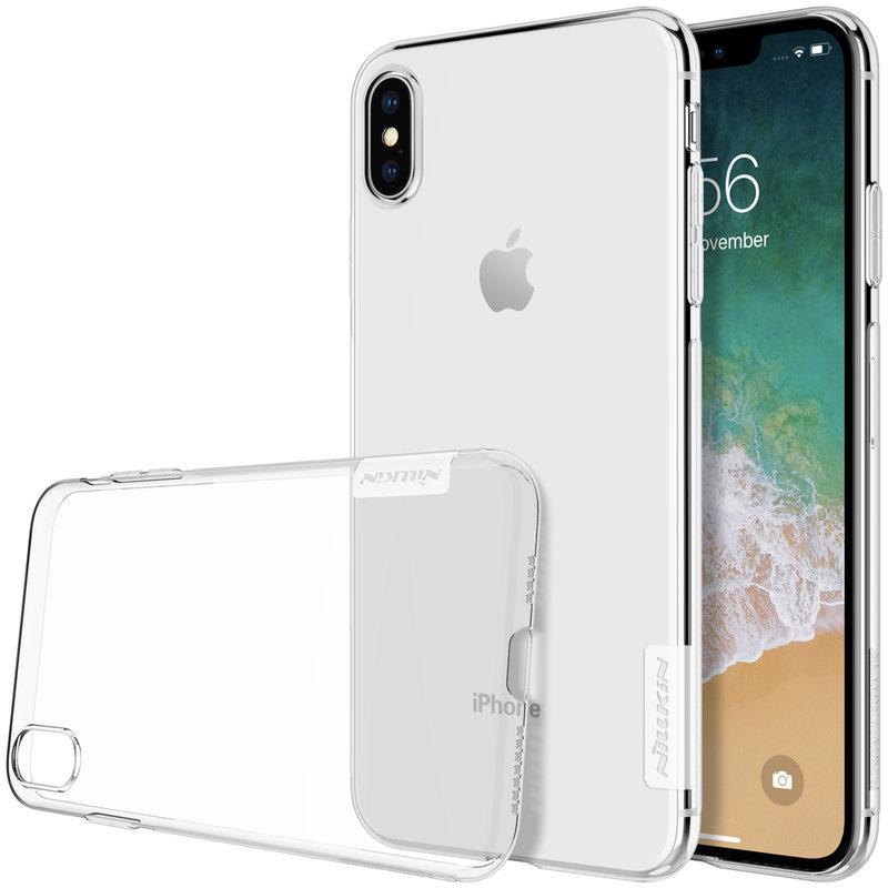 Husa iPhone XS Max Nillkin Nature UltraSlim Transparent