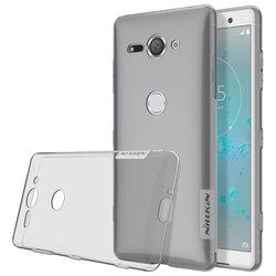 Husa Sony Xperia XZ2 Compact Nillkin Nature UltraSlim Fumuriu