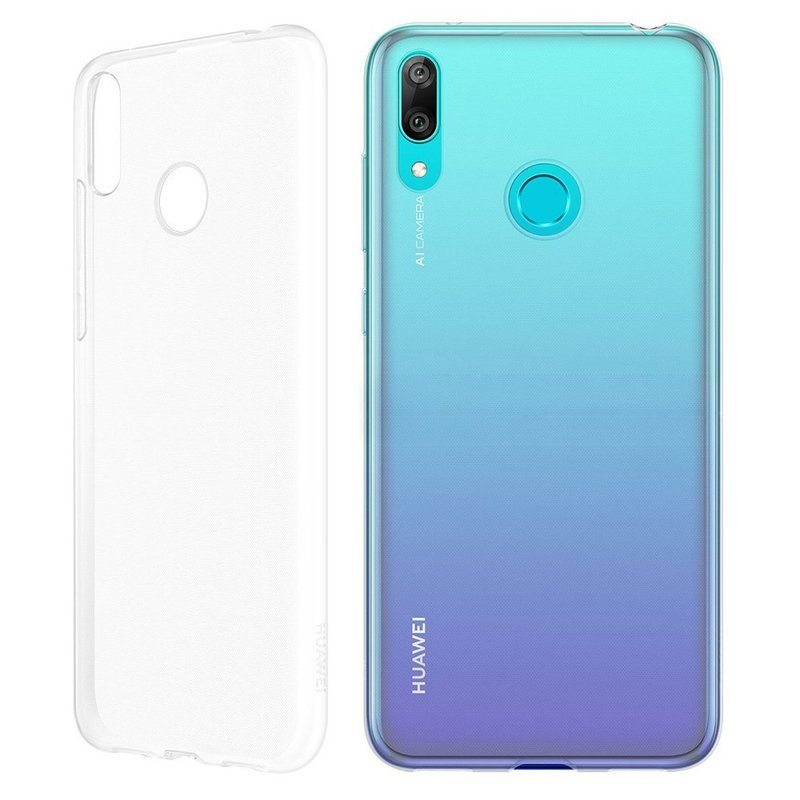 Husa Originala Huawei Y6 2019 Clear Cover - Transparent