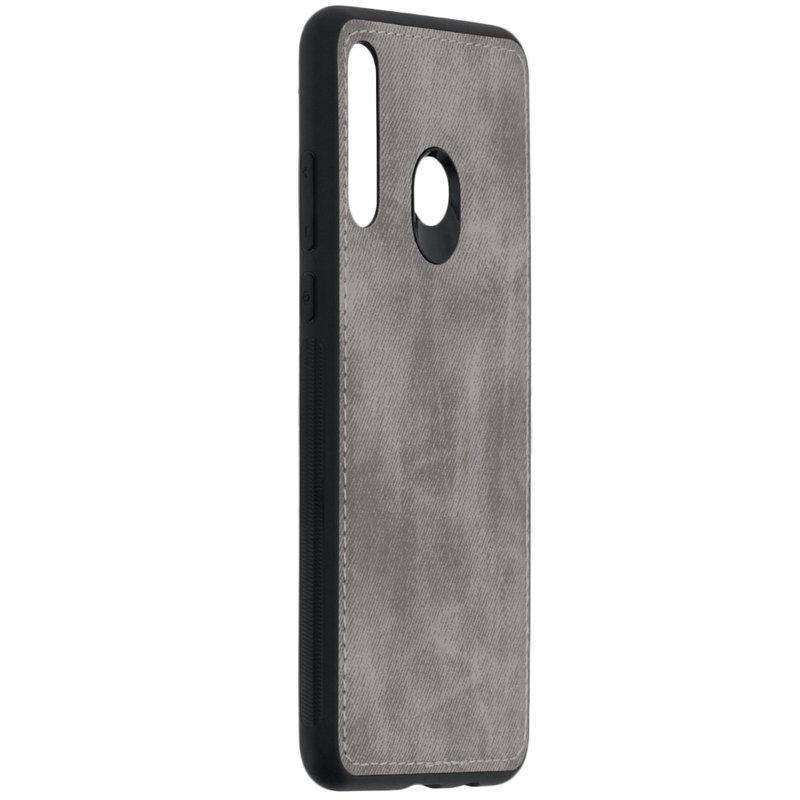 Husa Huawei P30 Lite Denim Cover - Gri