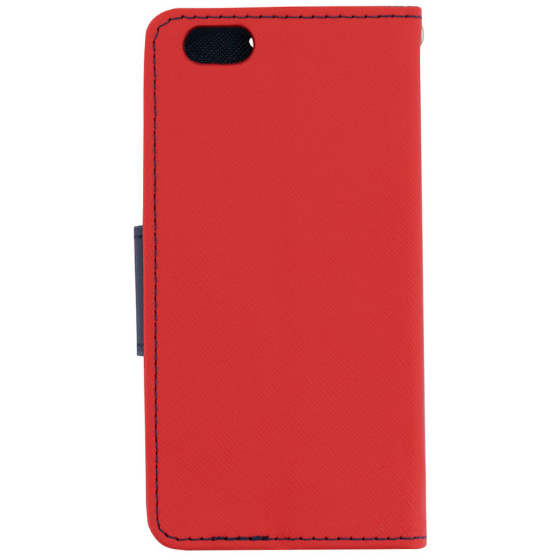 Husa iPhone 6 / 6S Flip Rosu MyFancy