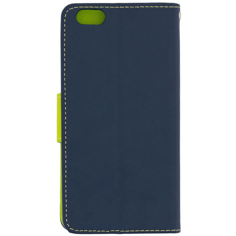 Husa iPhone 6 Plus / 6s Plus Flip Albastru MyFancy
