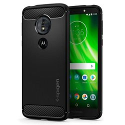 Bumper Spigen Motorola Moto G6 Play Rugged Armor - Black