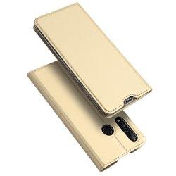 Husa Huawei Nova 4 Dux Ducis Flip Stand Book - Auriu