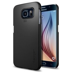 Bumper Spigen Samsung Galaxy S6 Thin Fit - Black