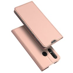Husa Huawei P30 Lite Dux Ducis Flip Stand Book - Roz