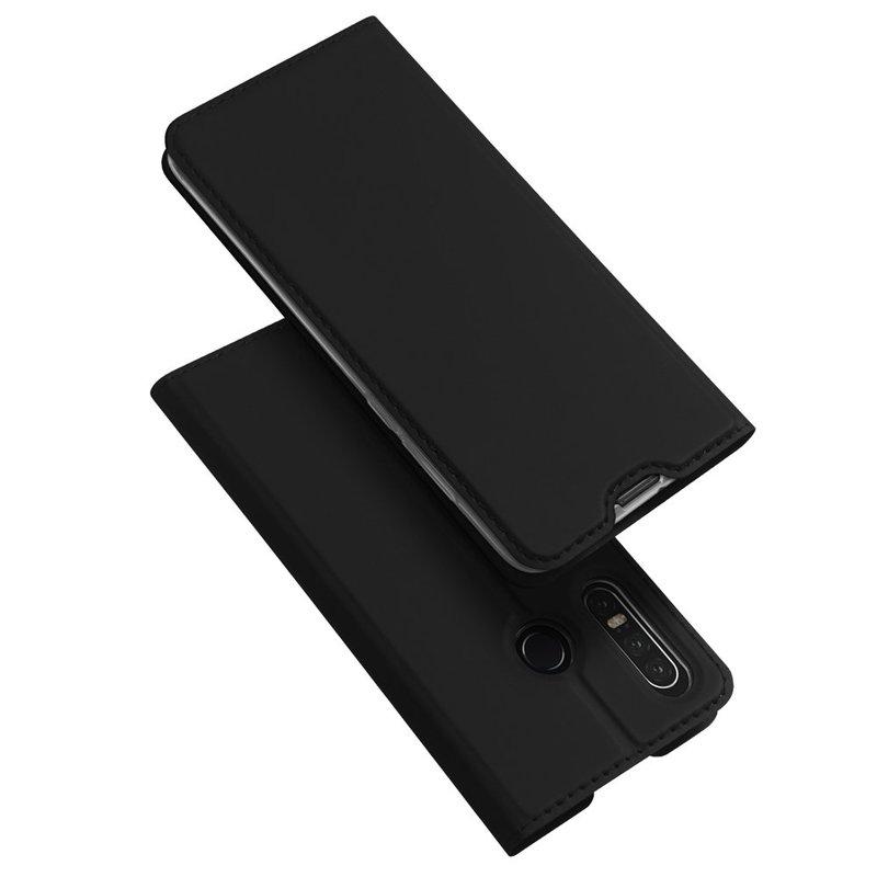 Husa Huawei P30 Lite Dux Ducis Flip Stand Book - Negru
