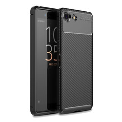 Husa Sony Xperia XZ4 Compact Mobster Carbon Skin Negru