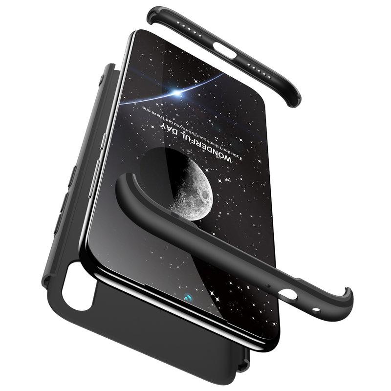 Husa Xiaomi Redmi Note 7 GKK 360 Full Cover Negru