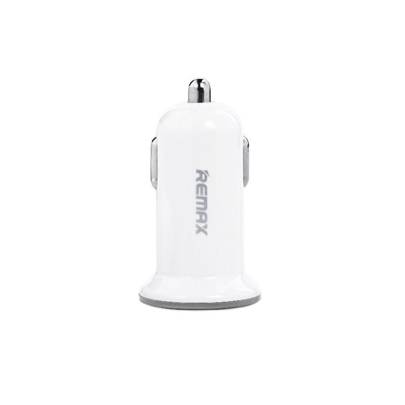 Incarcator Auto Remax Dual-USB 2.1A - RCC201 - White
