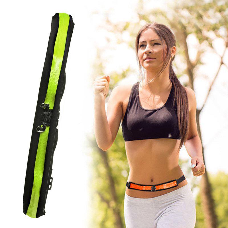 Husa Alergare Tip Curea Jogging Duble Pack Bag - Verde