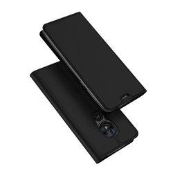 Husa Motorola Moto G7 Power Dux Ducis Flip Stand Book - Negru