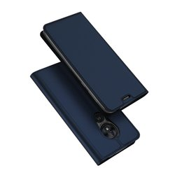 Husa Motorola Moto G7 Power Dux Ducis Flip Stand Book - Albastru