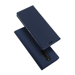 Husa Sony Xperia 1 Dux Ducis Flip Stand Book - Albastru