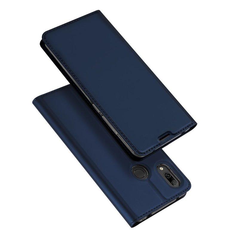 Husa Huawei Y7 2019 Dux Ducis Flip Stand Book - Albastru