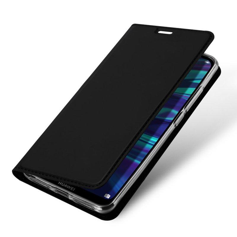 Husa Huawei Y7 2019 Dux Ducis Flip Stand Book - Negru