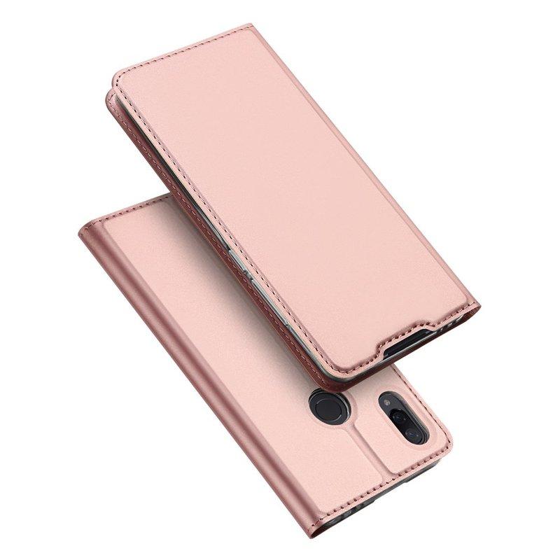 Husa Xiaomi Redmi Note 7 Dux Ducis Flip Stand Book - Roz