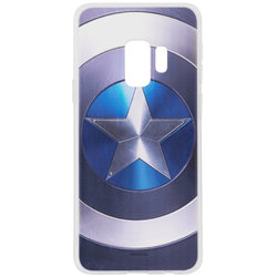 Husa Samsung Galaxy S9 Cu Licenta Marvel - Captain America Logo