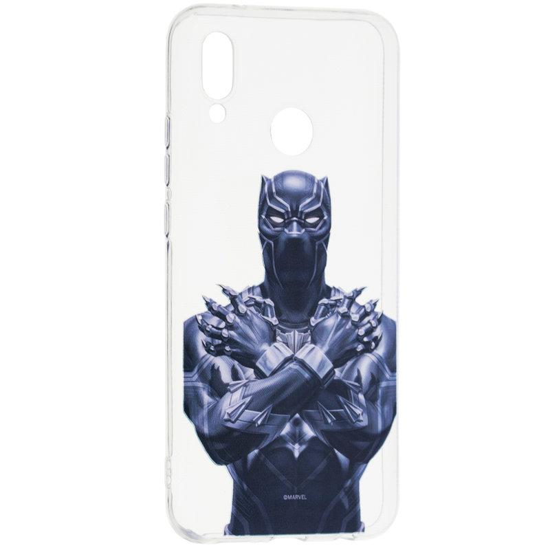 Husa Huawei P20 Lite Cu Licenta Marvel - Black Panther