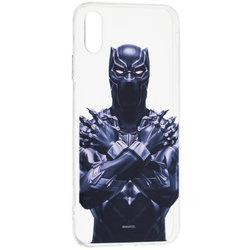 Husa iPhone XS Max Cu Licenta Marvel - Black Panther