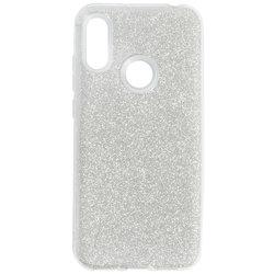 Husa Huawei Y6 2019 Color TPU Sclipici - Argintiu