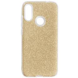 Husa Xiaomi Redmi Note 7 Color TPU Sclipici - Auriu