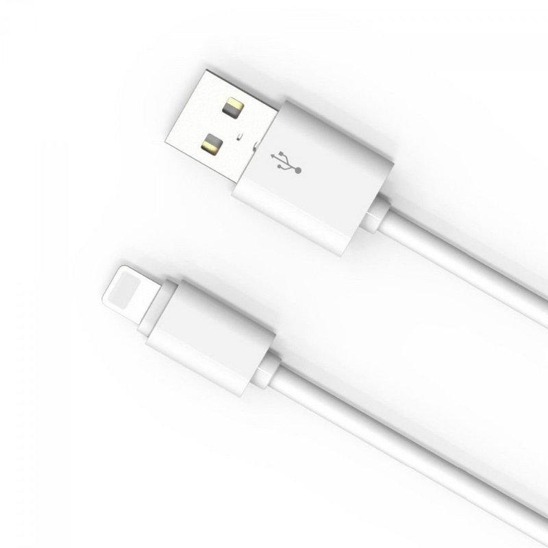 Cablu de date Lightning LDNIO SY-03 100CM 2.1A - Alb