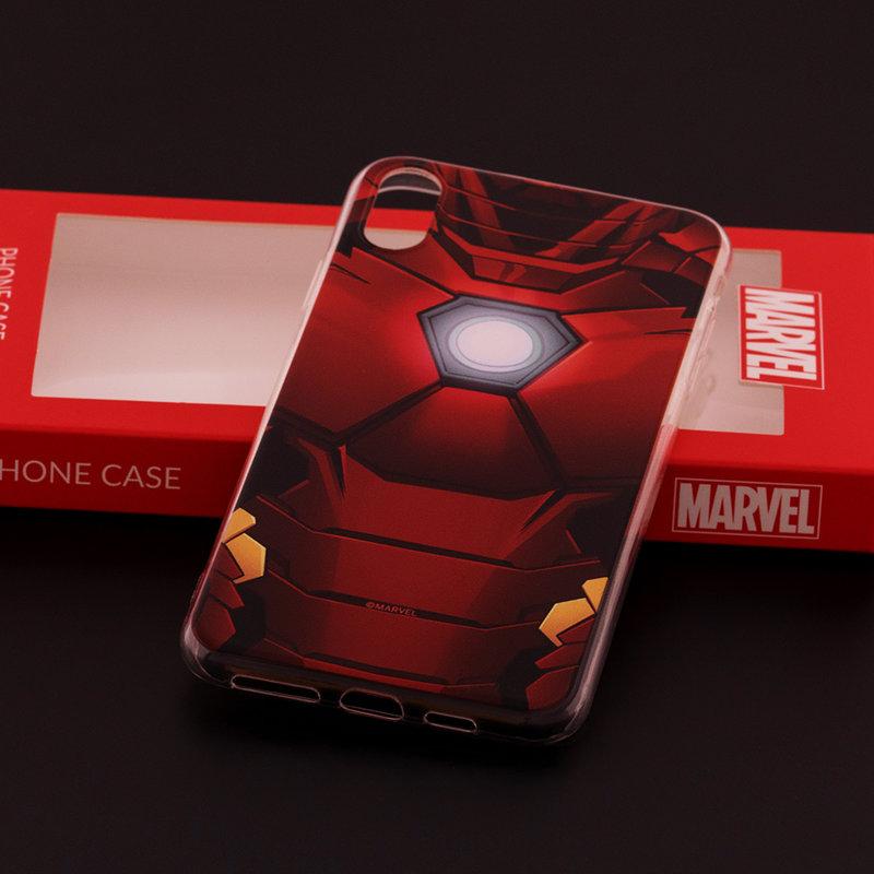 Husa iPhone XS Max Cu Licenta Marvel - Ironman Power Core