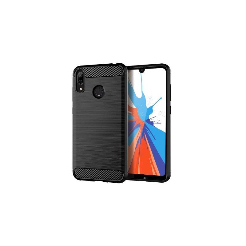 Husa Huawei Y7 2019 TPU Carbon Negru