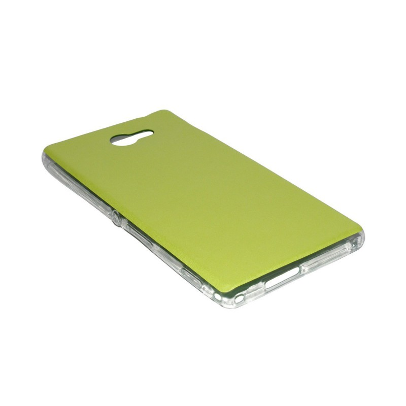 Husa Sony Xperia M2 Jelly Leather - Verde
