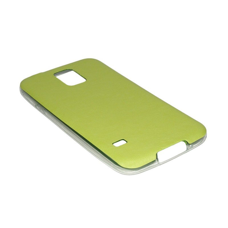 Husa Samsung Galaxy S5 G900 Jelly Leather - Verde