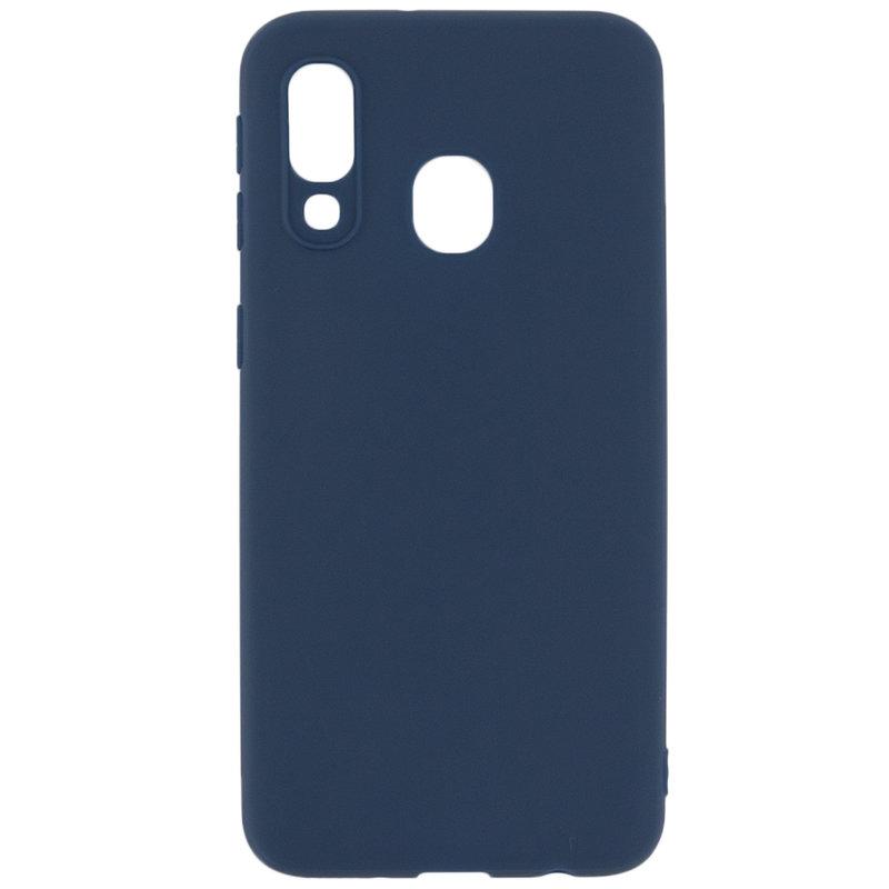 Husa Samsung Galaxy A40 Soft TPU - Albastru