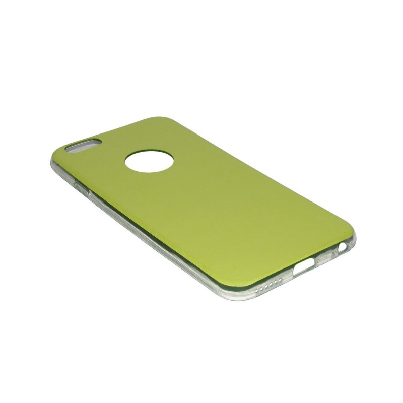 Husa Iphone 6 Jelly Leather - Verde