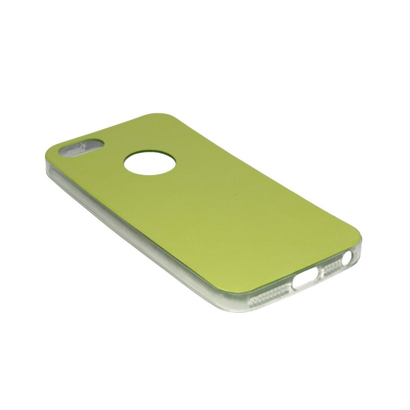 Husa iPhone SE, 5, 5s Jelly Leather - Verde