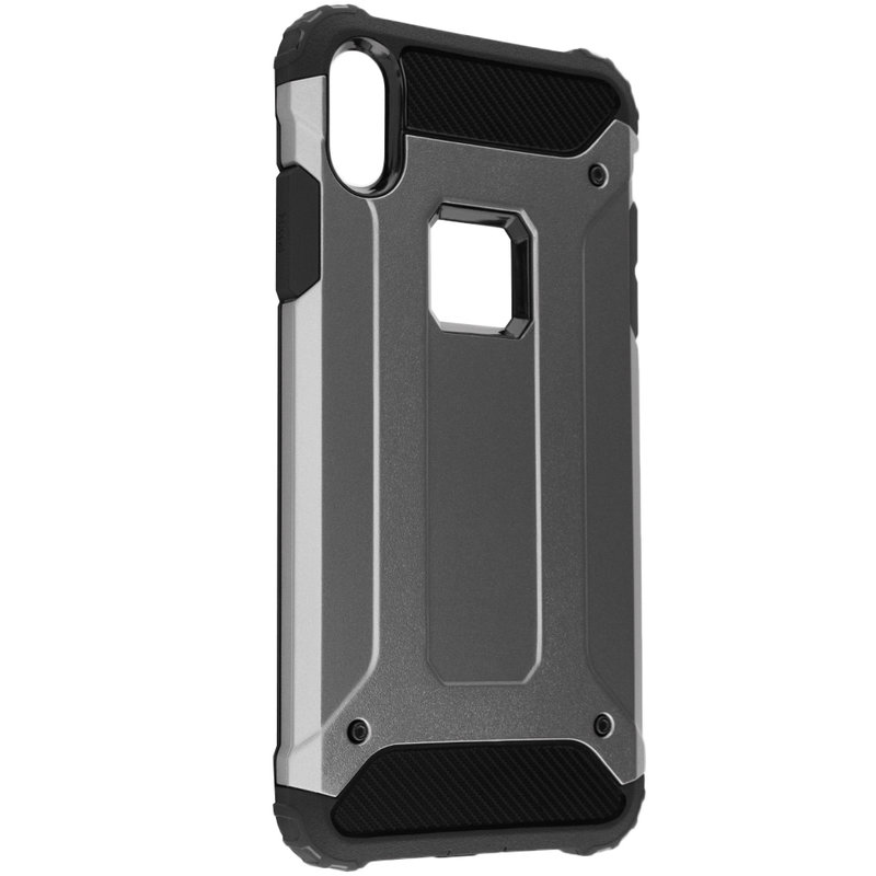 Husa iPhone XS Max Mobster Hybrid Armor - Gri