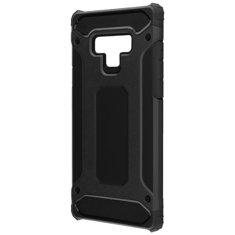 Husa Samsung Galaxy Note 9 Mobster Hybrid Armor - Negru