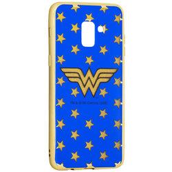Husa Samsung Galaxy A8 Plus 2018 A730 Cu Licenta DC Comics - Electro Wonder Woman