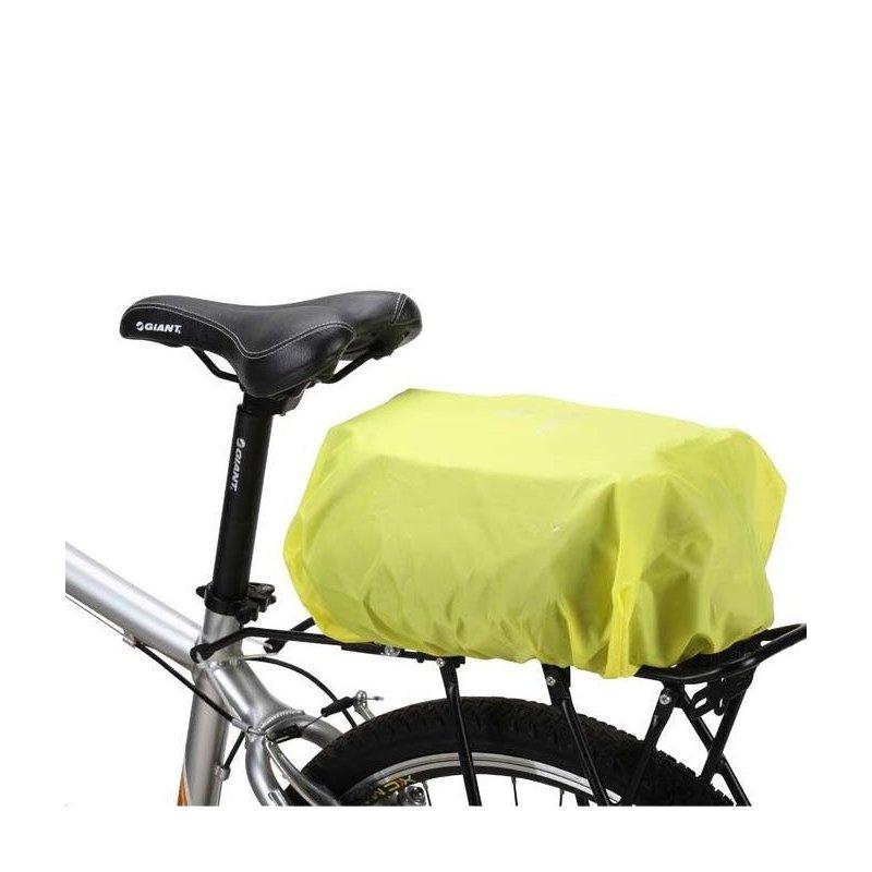 Husa Impermeabila Tip Pelerina De Ploaie Pentru Bortbagajul Bicicletelor - Galben