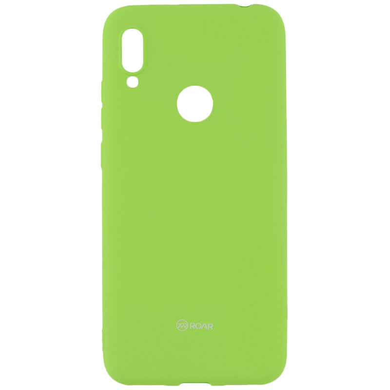 Husa Huawei Y6 2019 Roar Colorful Jelly Case - Verde Mat