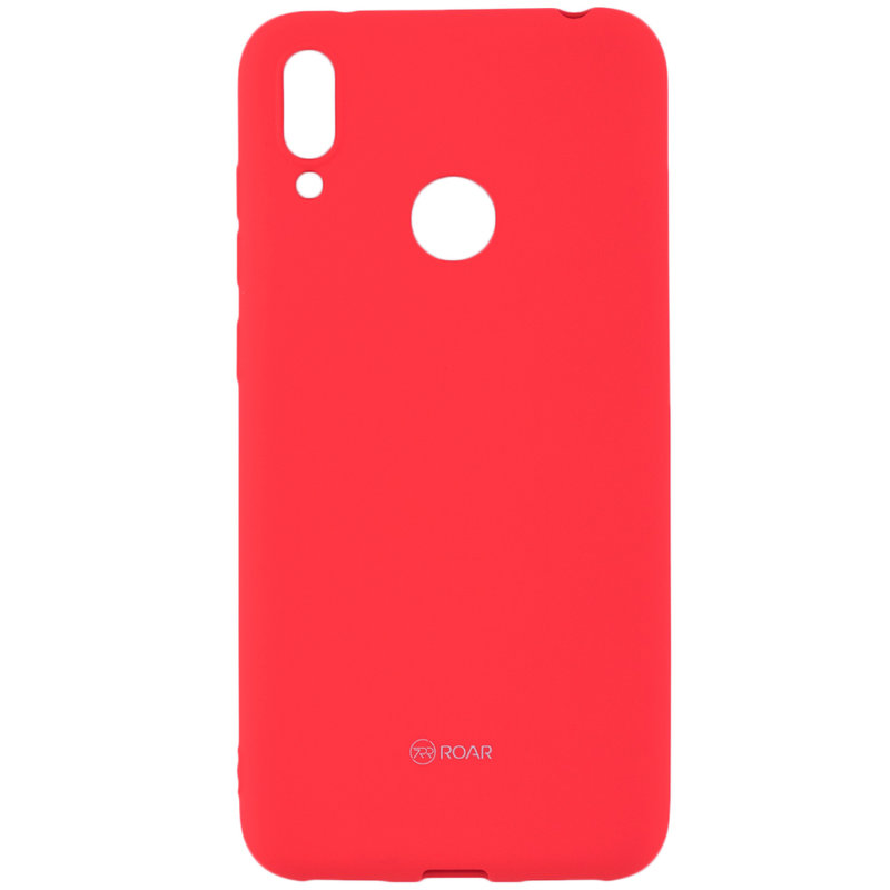 Husa Huawei Y7 2019 Roar Colorful Jelly Case - Portocaliu Mat