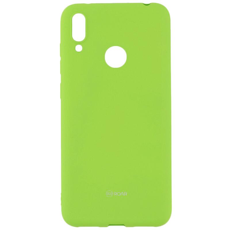 Husa Huawei Y7 2019 Roar Colorful Jelly Case - Verde Mat