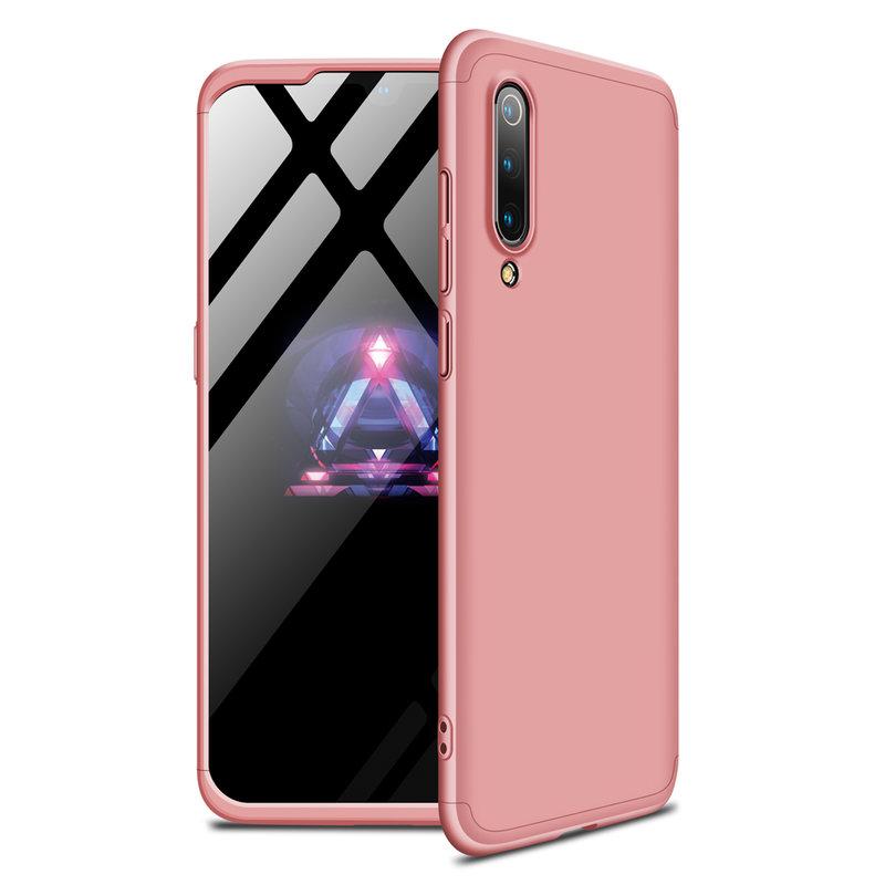 Husa Xiaomi Mi 9 GKK 360 Full Cover Roz
