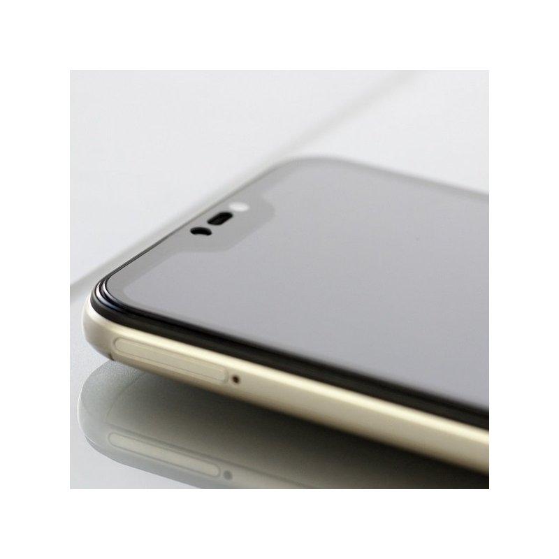 Folie Sticla Curbata Huawei Y7 Prime 2018 3Mk Hard Glass FullScreen 9H - Black