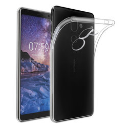 Husa Nokia 7 Plus Silicon Super Slim Just M - Transparent