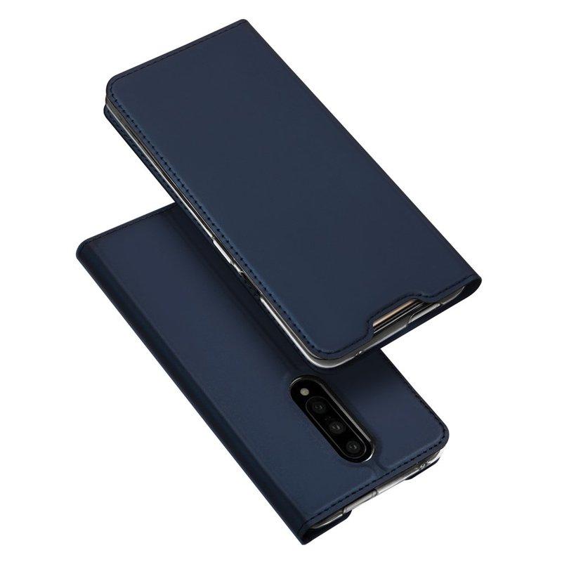 Husa OnePlus 7 Pro Dux Ducis Flip Stand Book - Albastru
