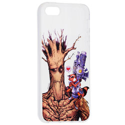 Husa iPhone 5 / 5s / SE Cu Licenta Marvel - Space Buddies