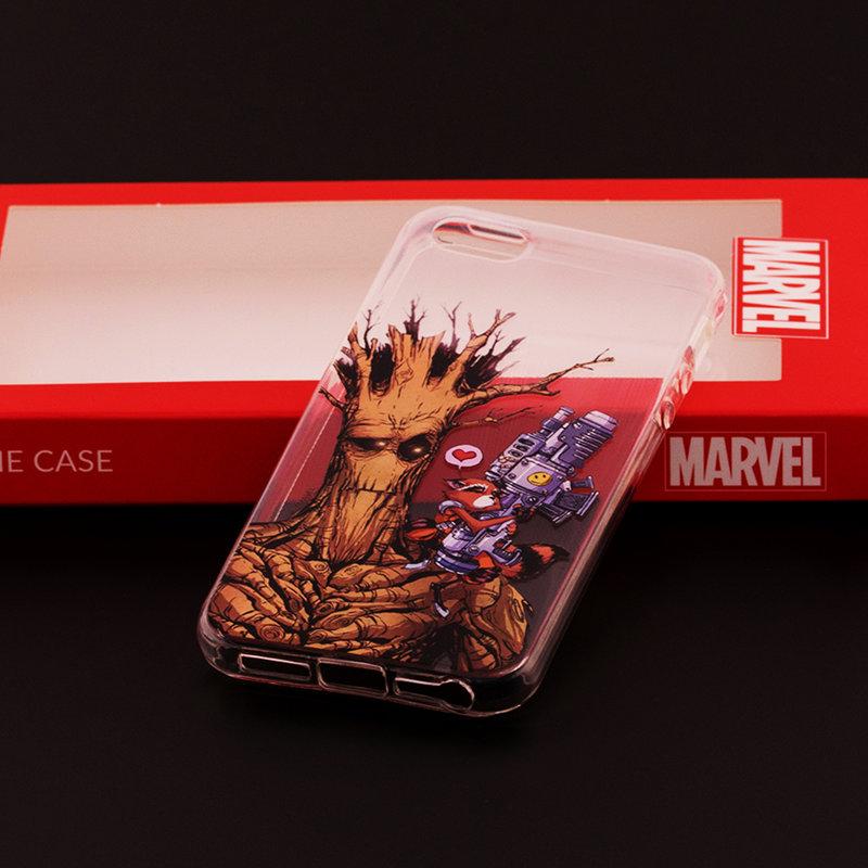 Husa iPhone 5 / 5s / SE Cu Licenta Marvel - Space Buddies